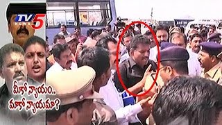YSRCP Chevireddy Arrested, Shifted to Mangalagiri Police Station