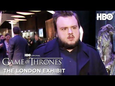 The Buzz: Game of Thrones Season 5 London Exhibition (HBO)