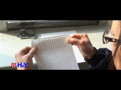 Electric paper punching machine CK 600