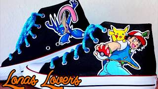 Pokemon, zapatillas personalizadas
