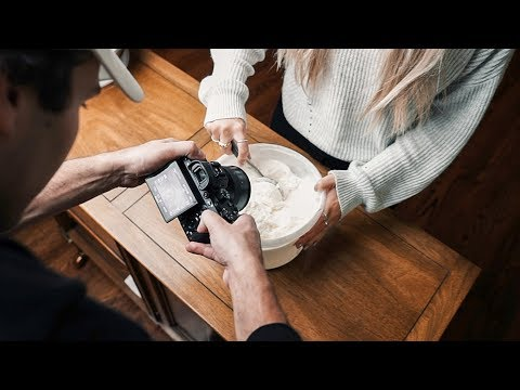 HOW I FILM HANDHELD ICE CREAM B ROLL | Behind the Scenes