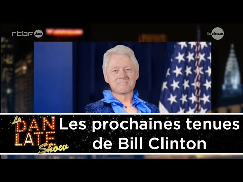 Dan choisit les prochaines tenues de Bill Clinton