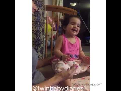 Baby Vienna laughing uncontrollably! 😄