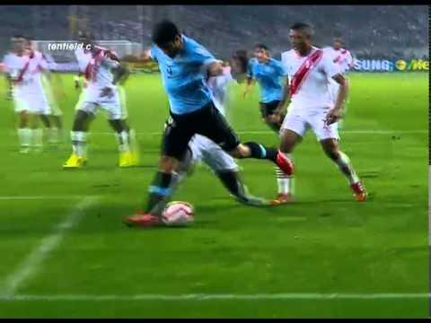 Peru 1 - Uruguay 2 Eliminatorias Brasil 2014