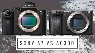 Sony a7 vs Sony a6300 - What Camera to Buy for Action Sports Photography?