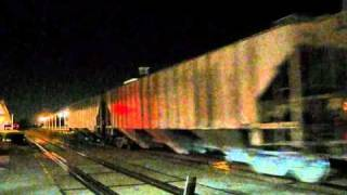 Hot Friday Night Freight Action in South Florida - September 3, 2010 Crank It Up!