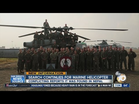 Search continues for missing Marine helicopter in Nepal