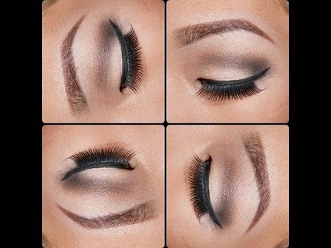 Smokey Brown Cut Crease Makeup Tutorial For Monolids
