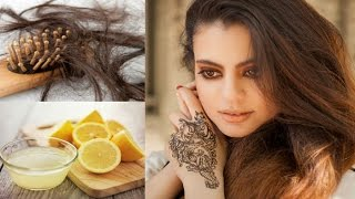 1 दिन में बालों का गिरना रोकने का रामबाण उपचार   Hair loss/Hair fall treatment