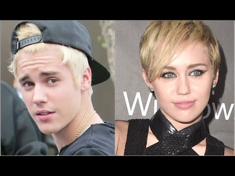 Justin Bieber Vs. Miley Cyrus: Best Blonde Babe?!