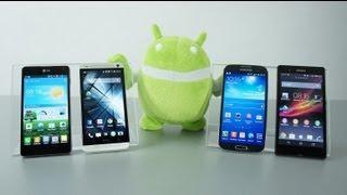 Mejores Smartphones 2013: Galaxy S4 vs HTC ONE vs Xperia® Z...