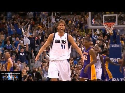 Dirk Nowitzki Offense Highlights 2012/2013