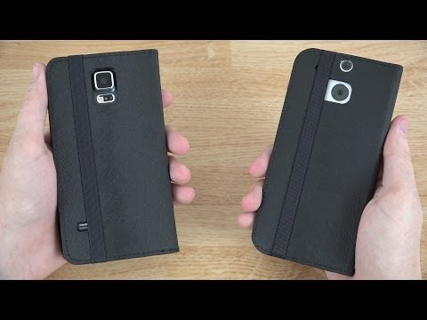 Poetic Flipbook Case for the HTC One M8 and Samsung Galaxy S5