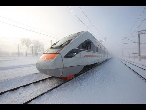 Скоростной поезд КВСЗ Тарпан (Украина). Super train (Ukraine). KVSZ Tarpan