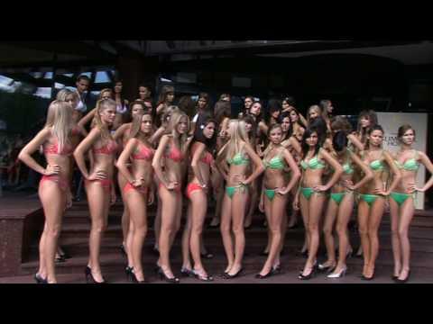 Półfinalistki konkursu Miss Polski w Szczyrku