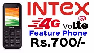Intex Counter Jio Phone | Intex Launched Turbo+ 4G VoLTE Feature Phone Priced Rs.700/- | Data Dock