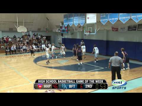 WHHI-TV BASKETBALL | HH Prep at Beaufort Academy | 2-5-2014