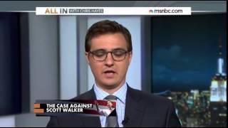 (Republican) Wisconsin Gov. Scott Walker Accused of 'Criminal Fundraising Scheme'  6/20/14