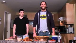 Мясной салат   Epic Meal Time Русский Перевод