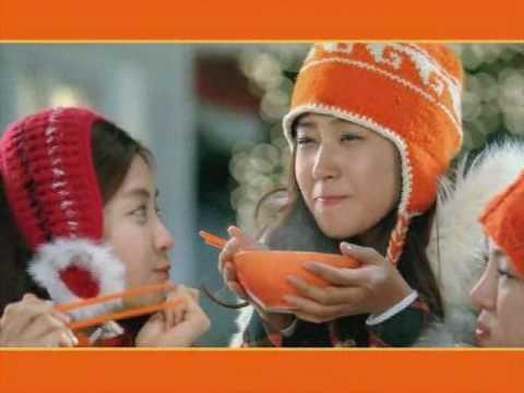 SNSD CF - Samyang Ramyun 30B Winter Nov30.2009 GIRLS' GENERATION PyeongChang