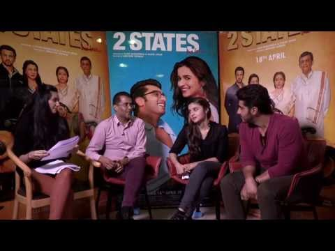 Chat with the Cast of 2 States - Arjun Kapoor, Alia Bhatt & Chetan Bhagat