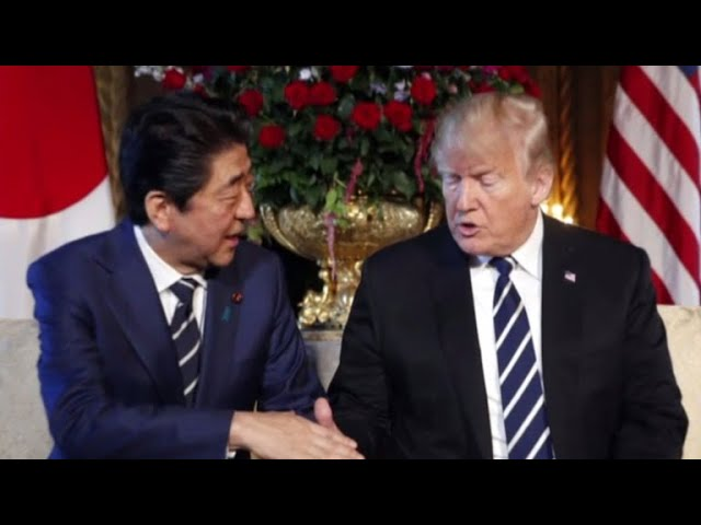 Trump, Japanese PM discuss talks with North Korea