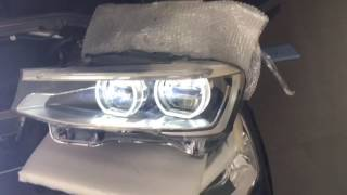 BMW F25 X3 LCI Adaptive LED Headlights Retrofitted by EleBest