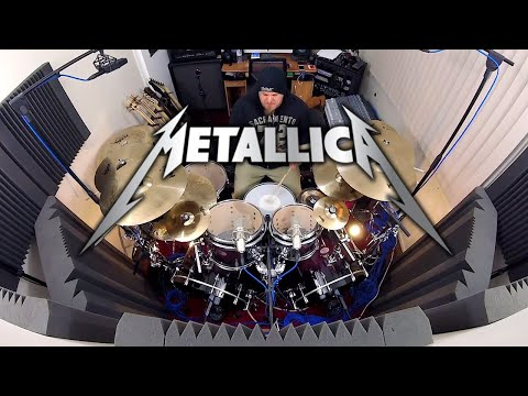 Metallica - Shortest Straw Drum Cover by Drum Cam Dan thumbnail