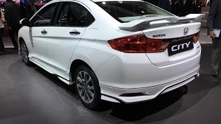 2016 Honda City Top of the Line Variant Showcased at Auto Expo - Walkaround