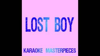 Lost Boy Originally By Ruth B Instrumental Karaoke