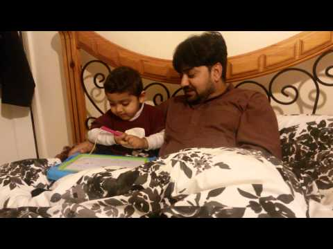 Sayyed Ali Qadar Abbas Making Baba's Picture... video