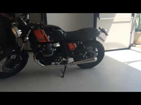 Moto Guzzi V7 Special - Mistral Exhausts
