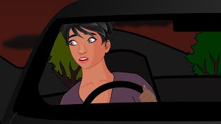 Driving Alone At Night Horror Stories Animated