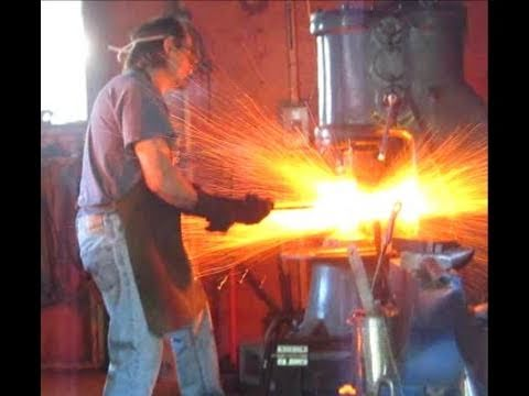 Making Damascus Steel, from Stack to Steel HD.