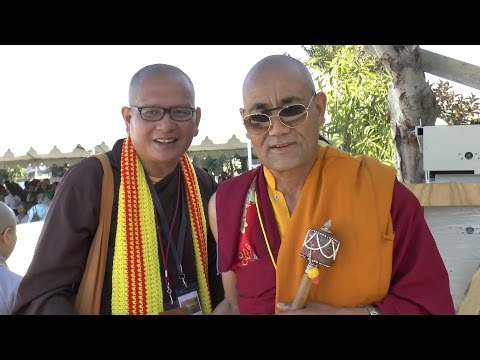 International Sangha Monks & Nun Welcome Dalai Lama and Call Upon The World to Save VN Environment