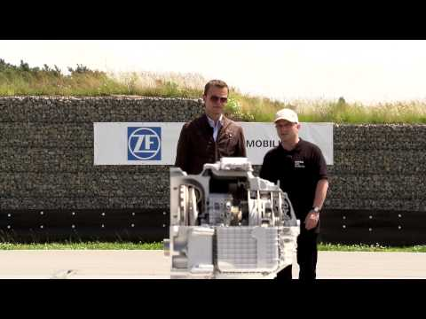 The world's first 9-speed automatic transmission (9HP) for passenger cars by ZF