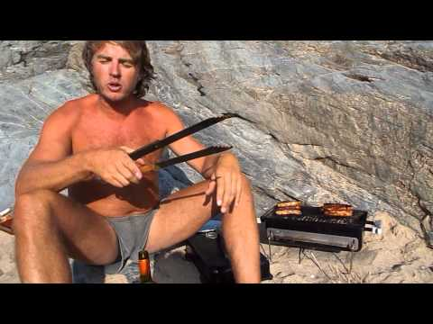Naked Beach Adventure Bbq video