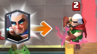 Clash Royale | MAGIC ARCHER REAL GAMEPLAY HD