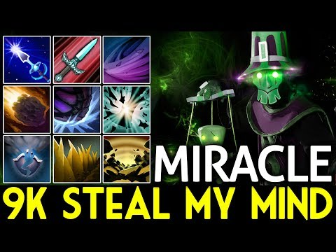 Miracle- Dota 2 [Rubick] 9k Steal My Mind (MUST SEE)