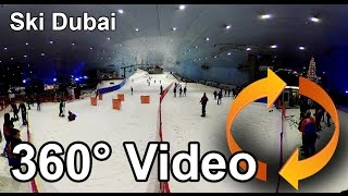 #360 video Ski Dubai is an indoor ski resort Share if you like!