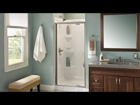 Delta Pivot Shower Door Installation Youtube