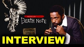 "Lakeith Stanfield Interview - Death Note ""L"""