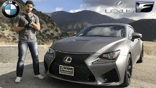 Crazy BMW Driver Drives A Lexus RC F *2018*