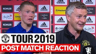 Manchester United | Tour 2019 | Inter Milan | McTominay  & Solskjaer | Post Match Reaction