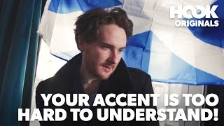 When The Accent Is Way Too Hard To Understand | BURNS NIGHT COMEDY SKETCH | The Hook