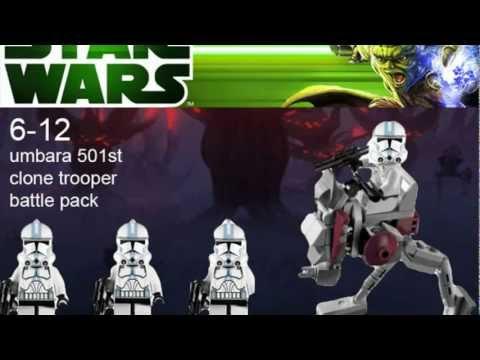 Clone Battle Pack 2012 Phase 2 Clone Battle Packs