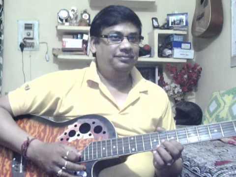 Jeevan ke din chote sahi on guitar