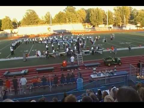 Columbus East High School Marching band 2012