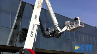 High Range truck-mounted platform B-LIFT 390