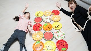 Seoeun Contest Fruit Plate Toys with Mommy